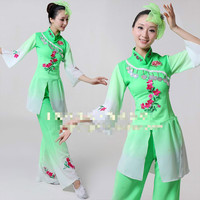 XS 3XXL Woem Dancing Costume Chinese Classic National Dancer Wear Chinese Traditional Cosplay Group Stage Performance