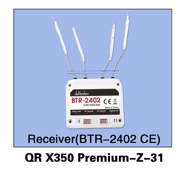 Walkera QR X350 Premium-Z-31 BTR-2402(CE) Receiver for Walkera QR X350 Premium Helicopter F14457 walkera qr x350 premium z 25 29 6v 3000mah lipo battery for walkera qr x350 premium helicopter f14451