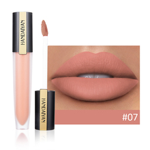 Matte Lipgloss Sexy Liquid Lipstick Waterproof Long Lasting Pigment 3D Nude Glitter Style Lip Gloss Cosmetic Beauty Red Lip Tint new make up lips matte liquid lipstick waterproof long lasting sexy pigment nude glitter style lip gloss beauty red lip tint