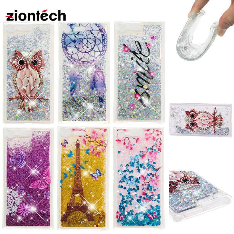 Fitted Cases Systematic Soaptree Phone Case For Sony Xperia Xz Premium 5.46 Inch Glitter Liquid Soft Tpu Cover Cellphones & Telecommunications