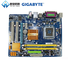 Original Used Desktop Motherboard Gigabyte GA-G31M-ES2C G31 LGA 775 DDR2 4G SATA2 USB2.0 COM Port Parall Micro-ATX original motherboard for n73 mcp73s01 irvine gl6e 492934 001 5189 0652 lga 775 ddr2 desktop motherboard free shipping