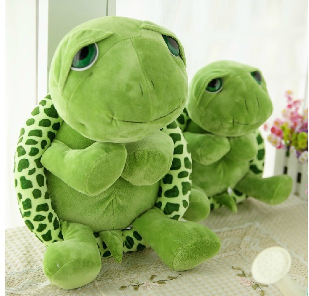 Multi Size Giant Stuffed Animal Tortoise Pillow Turtle Plush Doll