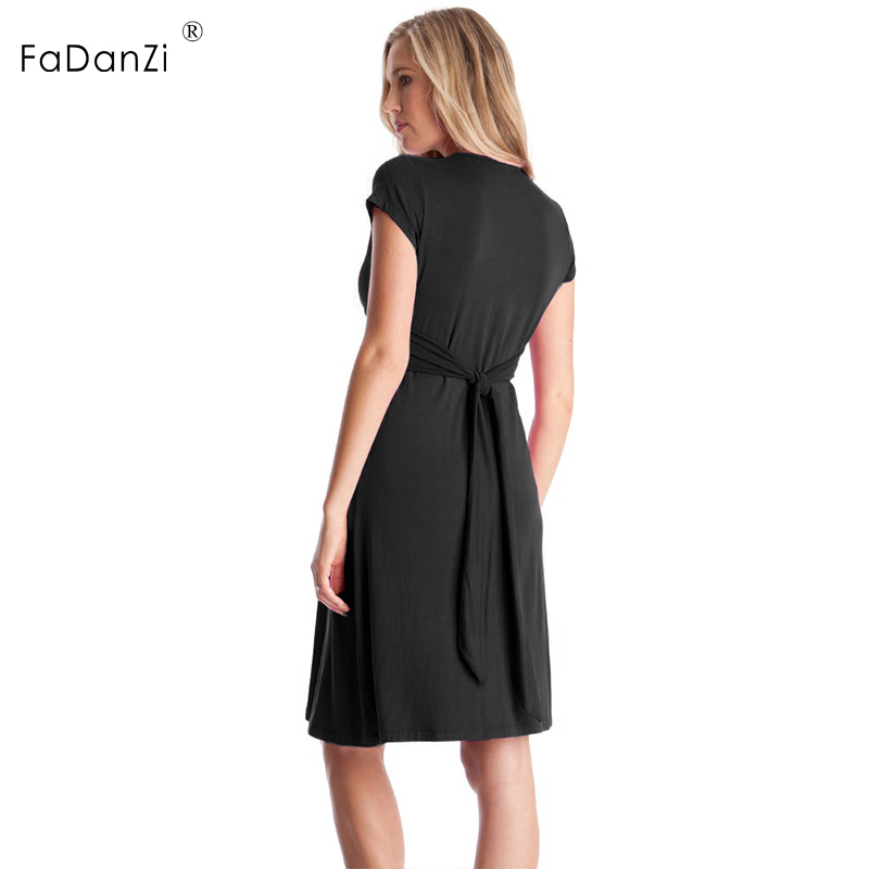 f84ed30af4ef5 summer maternity dress V-neck excellent sexy pregnant women short skirt  pregnancy clothing pregnant women skirt pregnant clothes | Babydreams