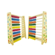 цена Wooden math toys Abacus for children baby 3 years old preschool Educational toys montessori toy kindergarten early educatio онлайн в 2017 году