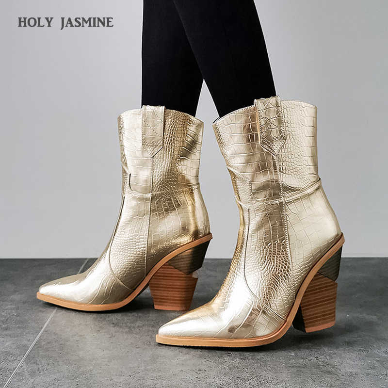 2019 New Winter Cowboy Boots for Women