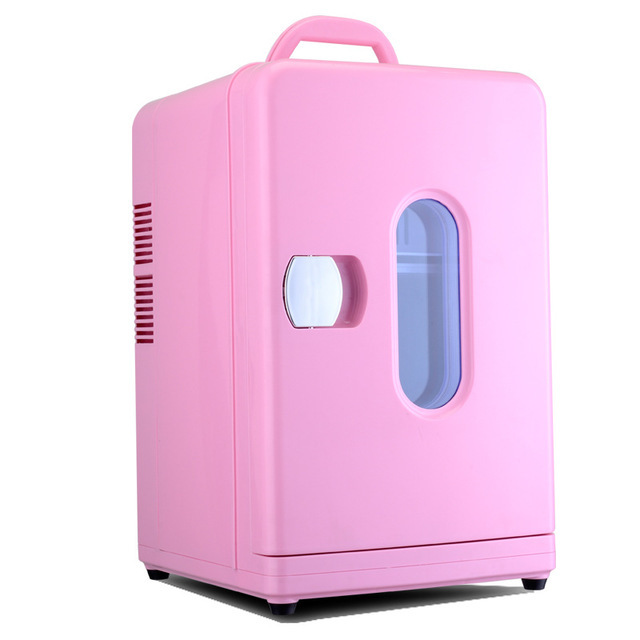 12L MINI Car Fridge Portable Auto Household Refrigerator Travel Food Electric Warmer Freezer Cooler Box Home Office 12V 220-240V