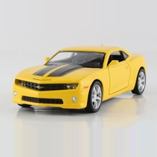 Freeshipping Children UNI-FORTUNE Chevrolet Camaro Bumblebee Model Car 1:36 5inch Diecast Metal Cars Toy Pull Back Kids Gift