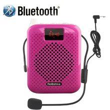 Rolton K500 Bluetooth Haut-Parleur Microphone Amplificateur de Voix Booster Mégaphone Haut-Parleur Soutient FM radio TFCard Lecteur Mp3