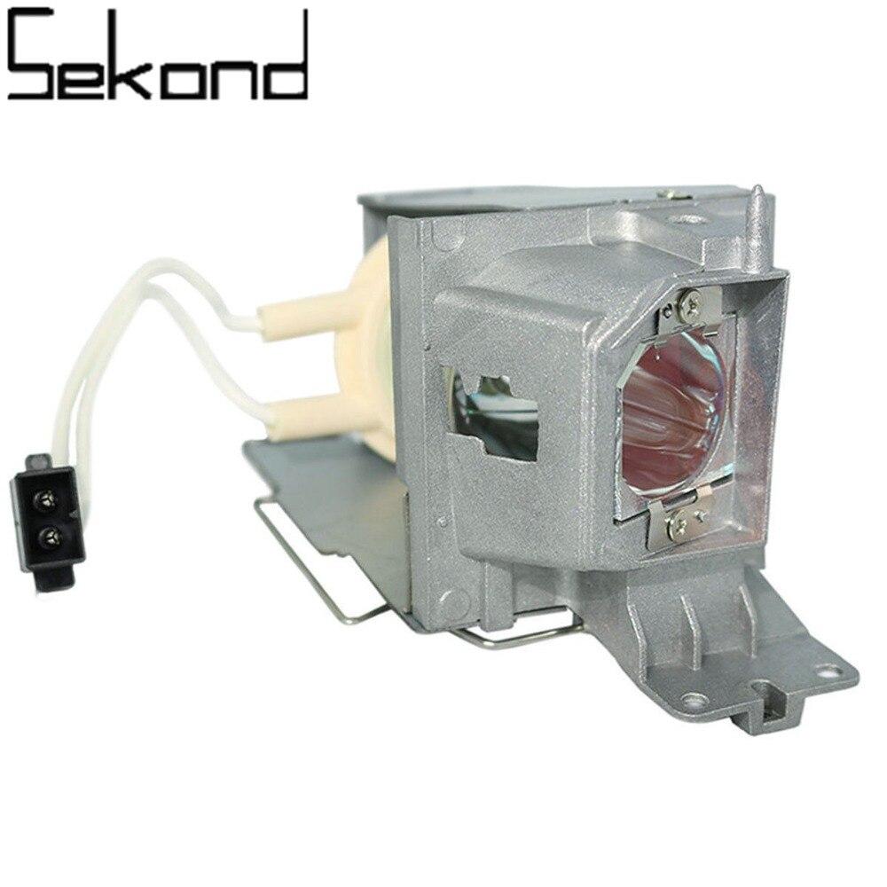 SEKOND Original Osram Bulb BL-FP190E Projector Lamp w/housing for OPTOMA DW333 S312 sekond original osram bulb bl fp230d sp 8eg01gc01 projector lamp with housing for optoma hd20 hd200x eh1020 tx612 hd180 ex612