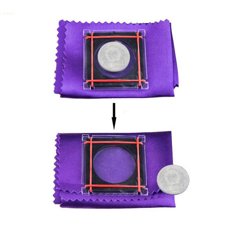 Coin Escape Magic Tricks Coin Flight For Kids Beginner Magicians Fantastic Coin Disappearing Magic Props 82002