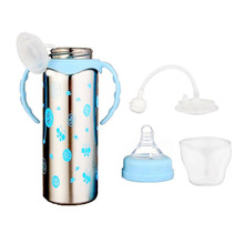Vacuum Insulation Eco-Friendly Stainless Steel Feeding Bottle