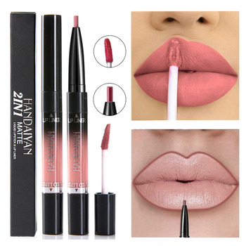 14 Color Liquid Lipstick Matte Red Lips Makeup Long Lasting Waterproof Matt Lip Stick Nude Pink Lips Liner Pencil Gloss Makeup