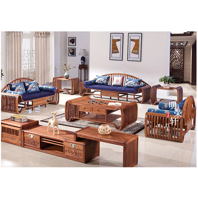 Sofas Divano Wood Furniture Living Room Set China Free