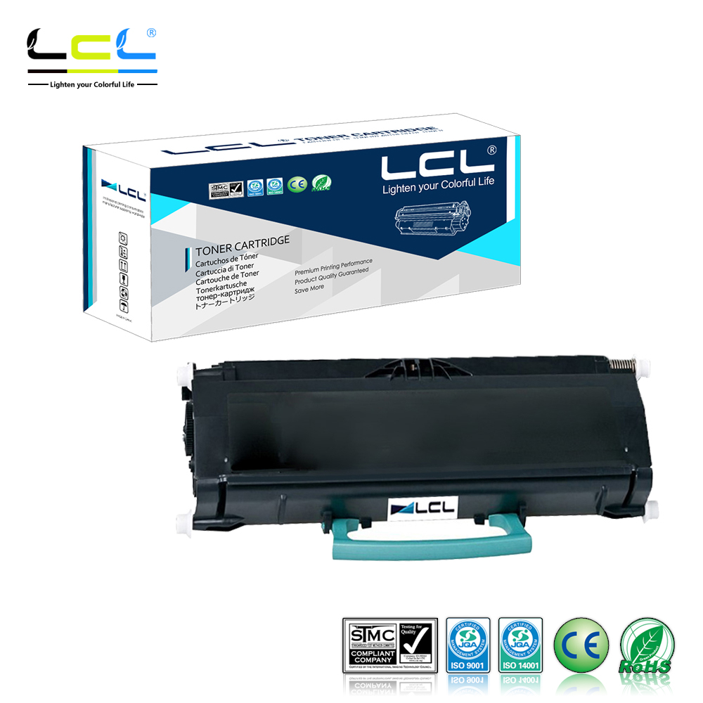LCL E460X11A E460X21A E460X11E E460 (1-Pack Black) 15000 pages Laser Toner Cartridge Compatible for Lexmark E460/460dn/460dw lcl ct201260 ct201261 ct201262 ct201263 4 pack laser toner cartridge compatible for fuji xerox docuprint c1190 c1190fs