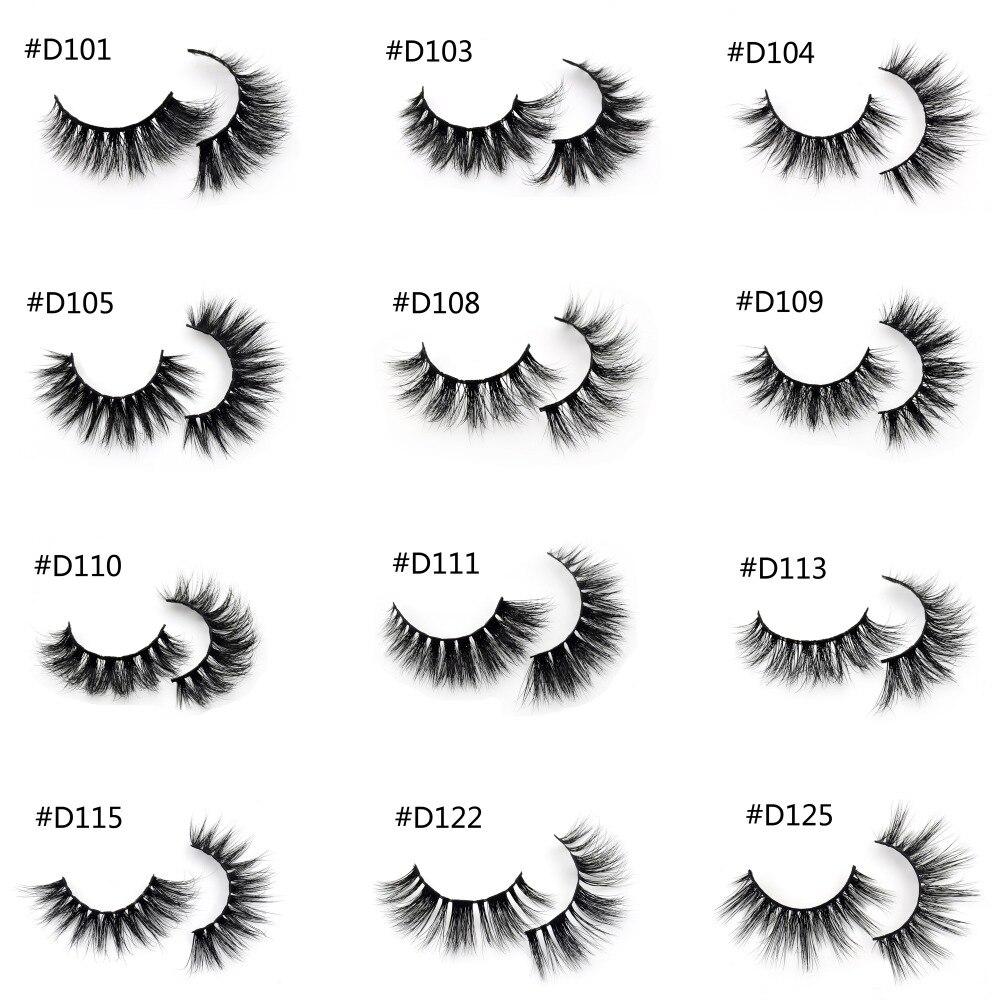 152dfc92ffd Visofree Eyelashes 3D Mink Lashes Handmade Full Strip Lashes Cruelty Free  Luxury Mink Eyelashes Makeup Lash