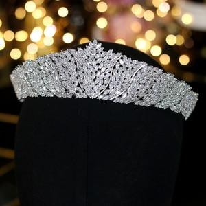 Image 1 - ASNORA Cổ Điển CZ Đính Đá Cubic Zirconia Cưới cô dâu Mũ Đội Đầu Thái Đầu nữ Dự Tiệc Phụ Kiện Trang Sức
