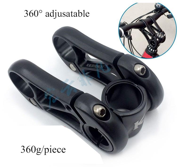 Prix pour Nouvelle arrivée classique cool prix creux CNC 360 digree en alliage d'aluminium 28.6 31.8mm VTT fold vélo souches