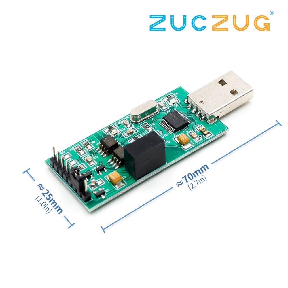 High-speed <font><b>isolation</b></font> USB to TTL serial <font><b>power</b></font> supply optocoupler <font><b>isolation</b></font> 3.3V 5VTTL output CH340 <font><b>module</b></font> image
