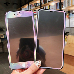 Image 2 - Чехол TRONSNIC с цветами для iPhone X, XS MAX, XR, синий, розовый, закаленное стекло, пленка для iPhone 6, 6S, 7, 8 Plus, Роскошный Жесткий матовый чехол
