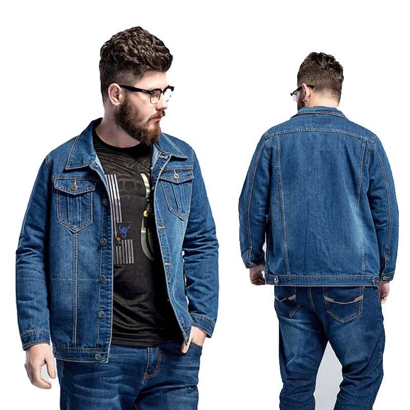 Streetwear Denim Jacket Cotton Black Red Splicing Bomber Jacket Men Mens Jackets and Coats Autumn