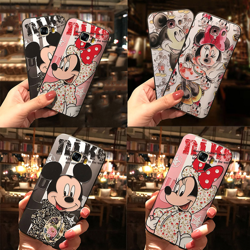 3D Relief TPU Cases For Samsung Galaxy S8 S9 S10 Plus S10e A9 A8 A6 Plus A7 2018 A5 2016 2017 A10 A30 A40 A50 S6 S7 Edge Case