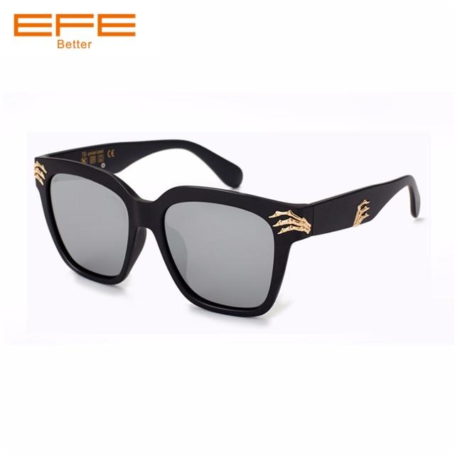 647ef972047f5 EFE Fashion Sunglasses Men Polarized Sunglasses Men Driving Mirrors Coating  Points Black Frame Women Sun Glasses UV400 Shades