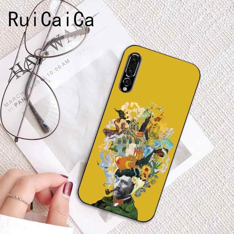 Ruicaica ดอกไม้พืช Vincent Van Gogh เคสโทรศัพท์สำหรับ Huawei P9 P10 Plus Mate9 10 Mate10 Lite P20 Pro honor10 View10