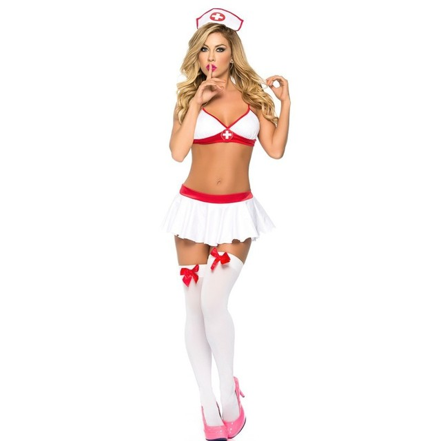 Naughty Sexy Nurse Costumes Erotic Underwear For Women Lingerie Sexy Hot Erotic Costumes Cosplay Doctor Suit Nurse Uniform