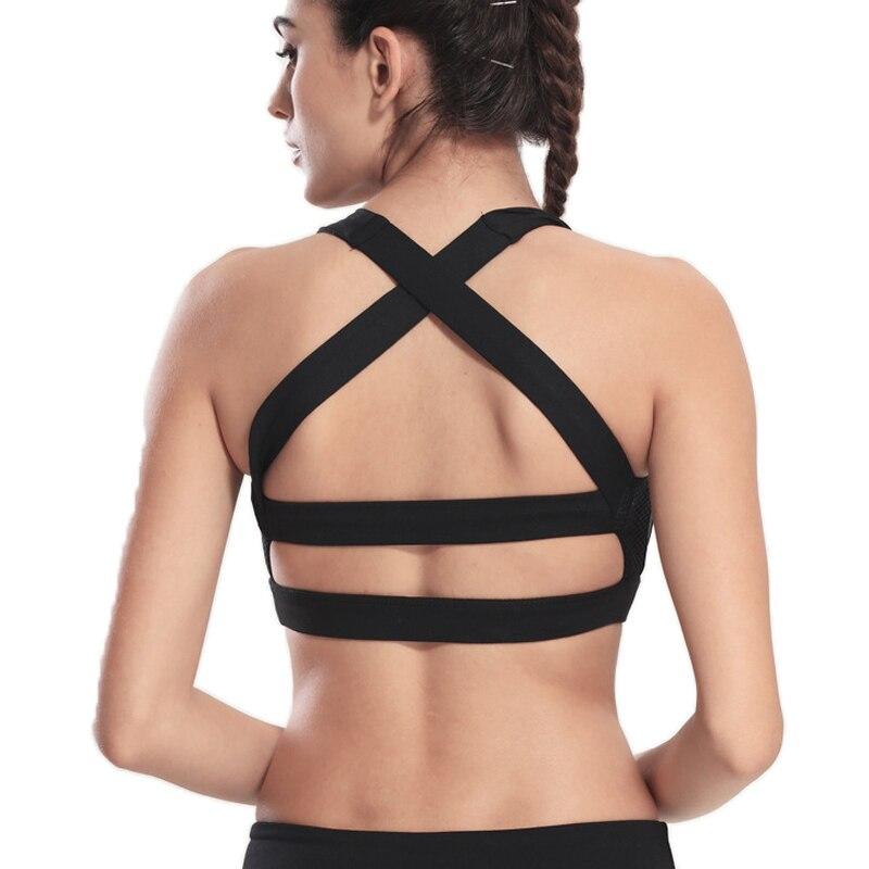 Besgo Curve Dames Bralette Kruisbandjes Hardlopen Sportbeha Fitness - Sportkleding en accessoires