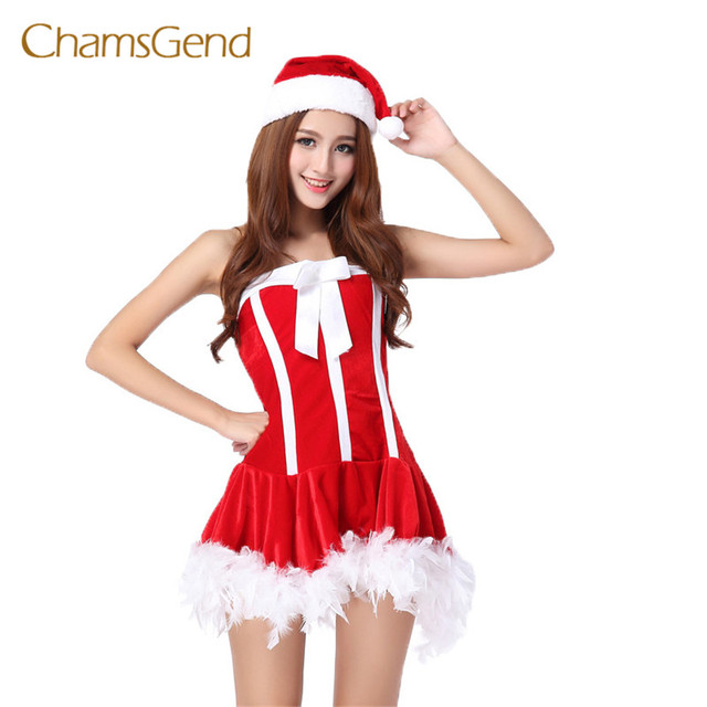 Best Deal Dress Women Fun Christmas Costume Dress Cosplay Girls Xmas Outfit  Fancy Party High Quality Gift Aug25 - Best Deal Dress Women Fun Christmas Costume Dress Cosplay Girls Xmas