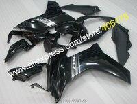 Лидер продаж, для Honda CBR600F CBR 600 F 2011 2013 CBR 600F, 11, 12, 13 лет, черный мотоциклетный обтекатель abs комплект (литья под давлением)