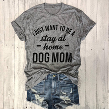 dd4322a60 SHYUTEE I JUST WANT TO BE stay at home MOM Hipster T-Shirt Women Graphic  Clothing