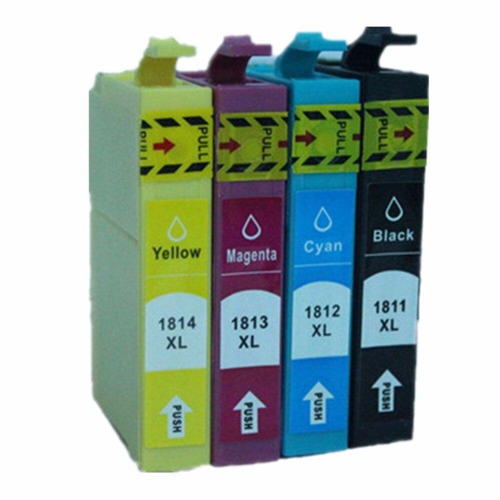 15 Pacco Cartucce di Inchiostro Per Epson Expression Home Page XP-312 XP-212 Stampante A Getto D'inchiostro XP-102 T18 18 XL T1816 T1811 T1812 T1813 T1814
