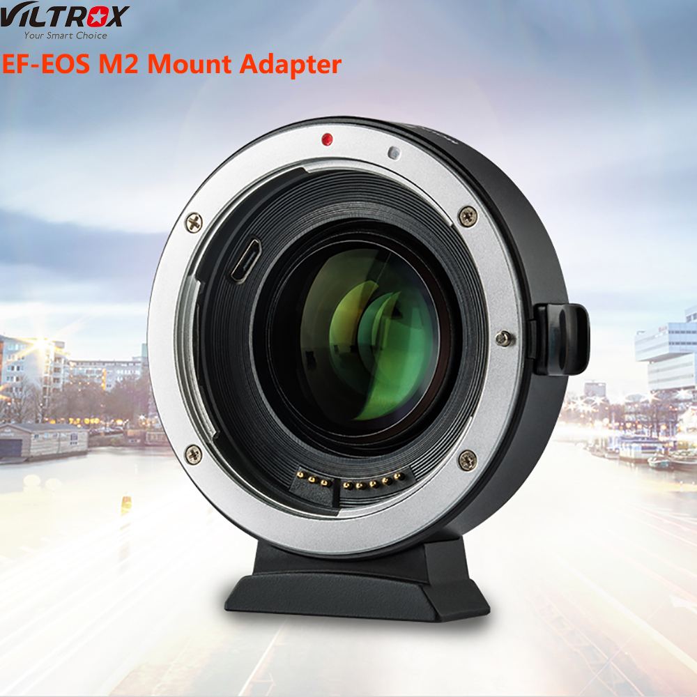 Viltrox EF-EOS M2 Mount Adapter for Canon EF Series Lenses for Canon