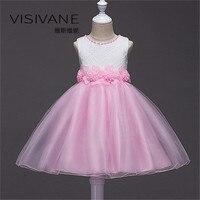 80e774456e 2018 Clothes Vestido Daminha Casamento Princess Brand Kids Clothes Lace  Dress Party Frocks Girls Baby Lace