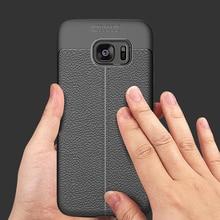 XinWen Роскошные чехол для телефона для Samsung Galaxy S7 S 7 силиконовый чехол etui, coque, мягкий ТПУ кожа узор интимные аксессуары