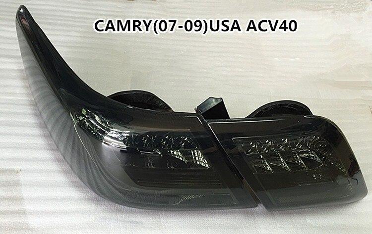 Osmrk feu arrière, feu arrière intérieur pour Toyota CAMRY 2007-2009 ACV40 ASV40 USA 2 pcs, livraison gratuite