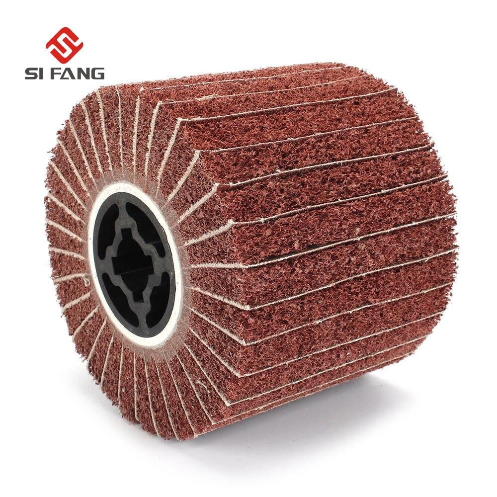 Wire Drawing Polishing Burnishing Machine/Polisher/Sander Wheel 120*100*19mm Abrasive Wheel