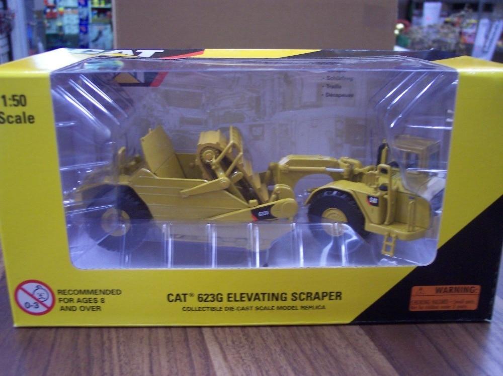 Norscot 1:50 Caterpillar CAT 623G machines d'ingénierie grattoir élévateur moulé sous pression jouet modèle 55097 pour Collection, décoration - 2
