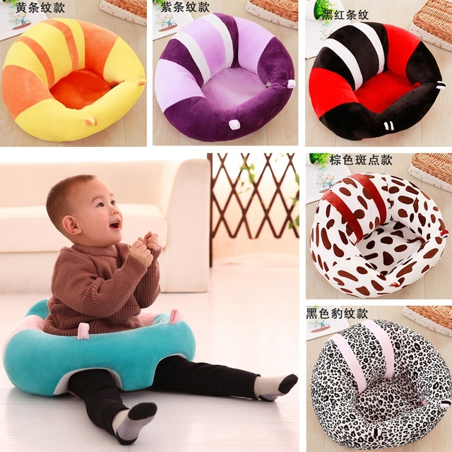 Superior Colorful Baby Seat Support Seat Soft Sofa Cotton Safety Travel Car Seat  Pillow Plush Legs Feeding
