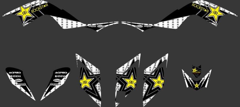330 Star New STYLE TEAM DECALS STICKERS Graphics Kits for Yamaha RAPTOR 700 ATV Raptor700 2006 2007 2008 2009 2010 2011 2012