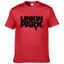 Summer Tees Linkin Park T Shirt Men Clothing Short Sleeve Mans TShirt Rock Music Hip Hop linkin park T-Shirts Boy  MZ52