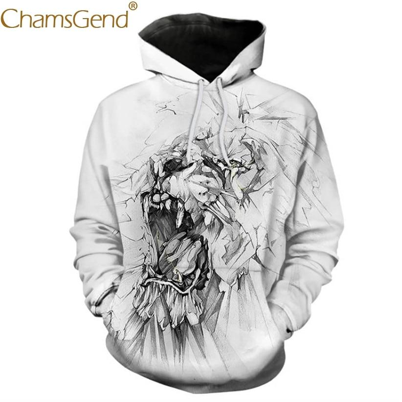 Chamsgend Hoodies Women Men 3D Sweatshirt Unisex Anime Print Hip Hop Street Dance Pullover Hoodie Shirt Tops 80109