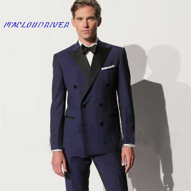 Aliexpress.com : Buy 2018 Custmized Latest Coat Design Darker Blue ...