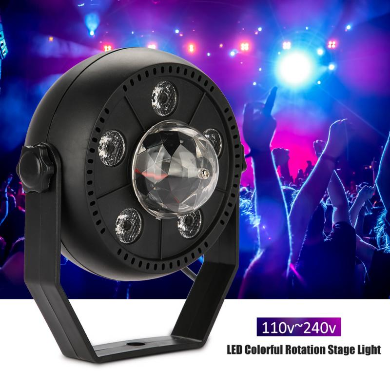 LED Colorful Rotation Stage Light DMX Controller Disco Light Moving Head Party DJ Lights LED Par Show Pub Club Lighting Lamp dmx 512 mini moving head light rgbw led stage par light lighting strobe professional 9 14 channels party disco show