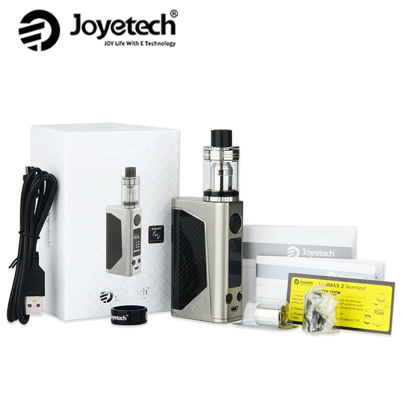 Original Joyetech EVic Primo 2.0 Kit 228W with 5ml UNIMAX 2 Tank Vaping Kit 0.25ohm BFL-1 Coil NO Battery Electronic Cigarette original ijoy captain pd1865 tc 225w kit captain tank 4ml atomizer no 18650 battery captain pd1865 mod e cigarette vaping kit