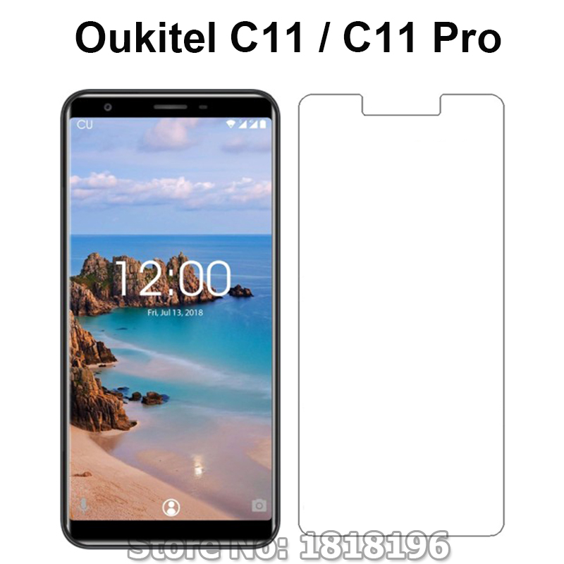 Tempered Glass for <font><b>Oukitel</b></font> C11 / C11 Pro <font><b>C11pro</b></font> 9H Explosion-proof Original Smartphone Film For <font><b>Oukitel</b></font> C11 Screen Protector image