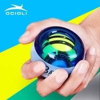 OCIOLI Power Explosion Gyroscrope Force Gyro тренажер для запястья рук и пальцев Pow Ball Hand Spinner для фитнеса Carpal экспандер