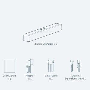 Image 4 - Original Xiaomi Bluetooth TV barre de son haut parleur sans fil barre de son Support optique SPDIF AUX pour Home cinéma