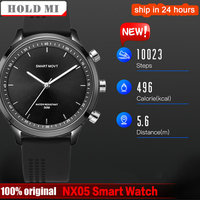 NX05 Smart Watch Men Professional Sport 5ATM Waterproof Smartwatch with SOS Quartz Watch 12 Months Long Time Standby Clock